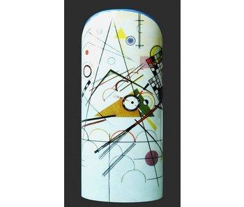 Mouseion Vase Kandinsky Silhouette d'Art