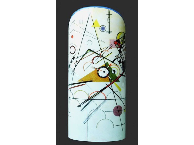 Mouseion Kandinsky, museum vase Silhouette d'Art Collection