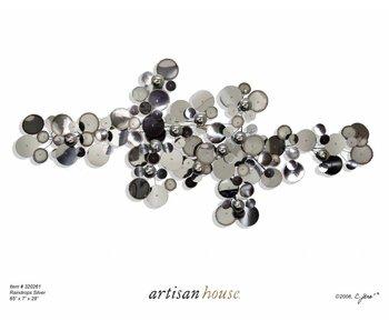 C. Jeré - Artisan House Wandskulptur Raindrops Silver
