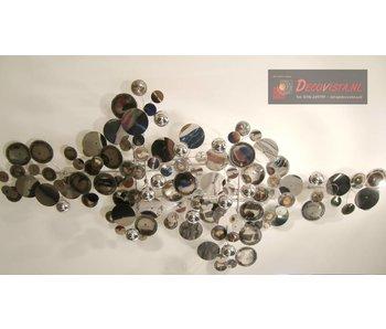 C. Jeré - Artisan House Wandsculptuur Raindrops Silver