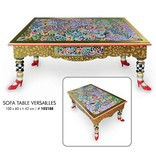 Toms Drag Rectangular sofa table in Versailles style