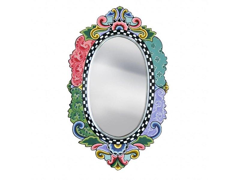 Toms Drag Espejo Versalles, ovalado