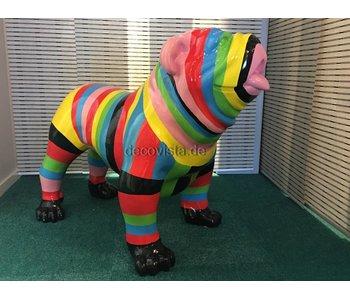 Escultura de jardín Perro  multi-color