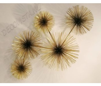 C. Jeré - Artisan House Wall Art sculpture Urchin (Pom Pom)