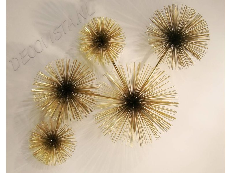 C. Jeré Urchin, Pom Pom - metalen wanddecoratie, Artisan House - C. Jeré