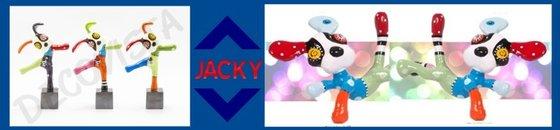 Kleurrijke kunst Jacky  Zegers