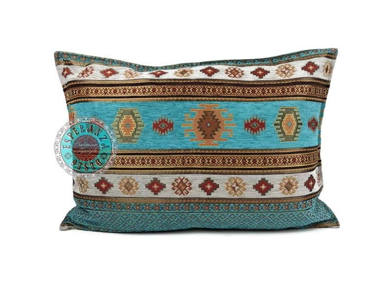Esperanza Boho Sierkussen Aztec van meubelstof 50 x 70 cm