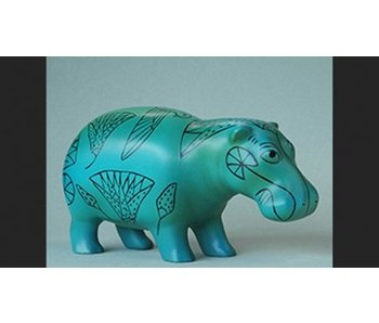 Mouseion Faience hippopotamus Egypt