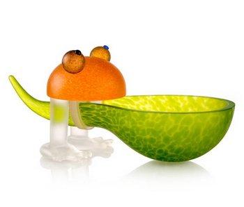 Borowski Frosch bowl  - zitro / orange