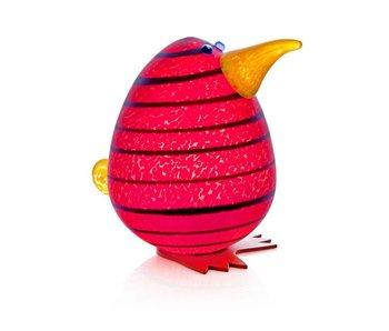 Borowski Kiwi Egg, rood presse-papier