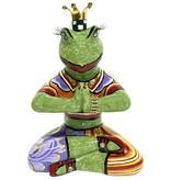 Toms Drag Estatuilla de rana de yoga Baba - S