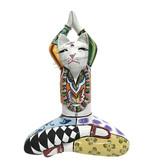 Toms Drag Yoga cat figurine Swami - L