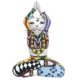 Toms Drag Estatuilla del gato de yoga Swami - S