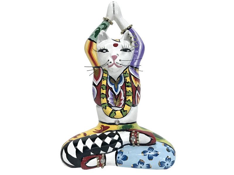 Toms Drag Yoga kattenbeeldje Swami - S