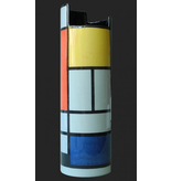 Mouseion Piet Mondriaan museum vase Silhouette d'Art Collection