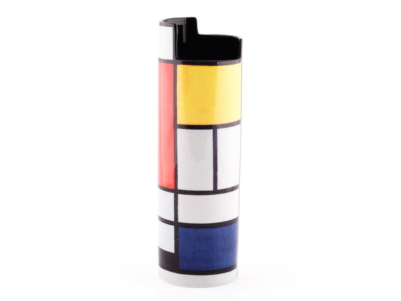 Mouseion Piet Mondriaan Museumsvase Silhouette d'Art Collection