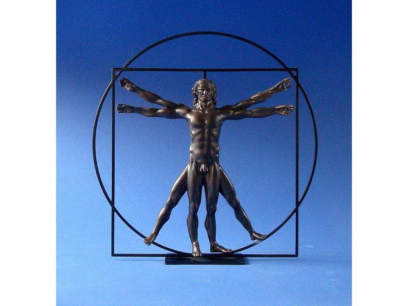 Mouseion Statue Der Mann, der Vitruvië -