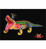 Toms Drag Fußmatten Krokodil Alligator