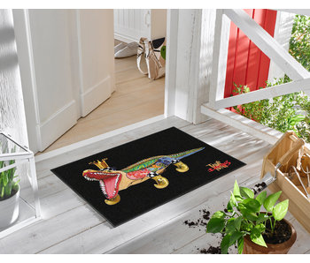 Toms Drag Doormat Alligator