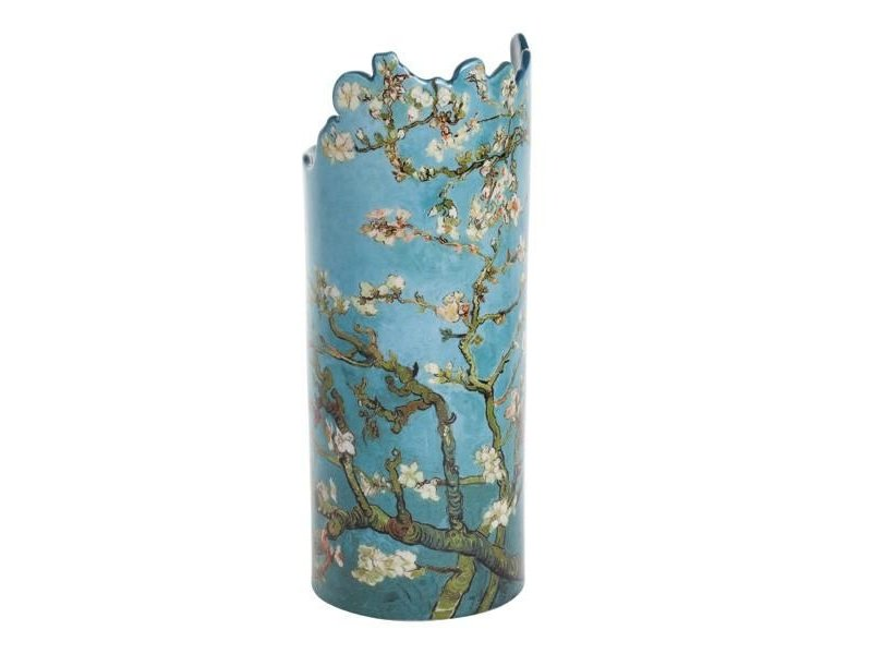 Silhouette d'Art - John Beswick Vincent Van Gogh - Almond Tree in Blossom,  künstliche Blumenvase Silhouette d'Art