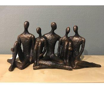 Casablanca Deco-Art Statue  Family