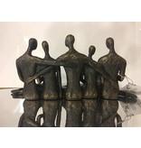 Casablanca Deco-Art Dekorative Statuette Reunion