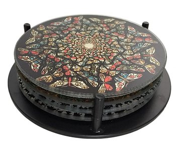 Mouseion Coasters Set, MC Escher Circles