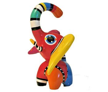 Jacky Art Kunstobjekt Elefant Hugo