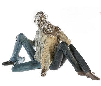 Atmosphärisches Objekt junges Paar