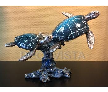 Casablanca Deco-Art Sea turtles on coral
