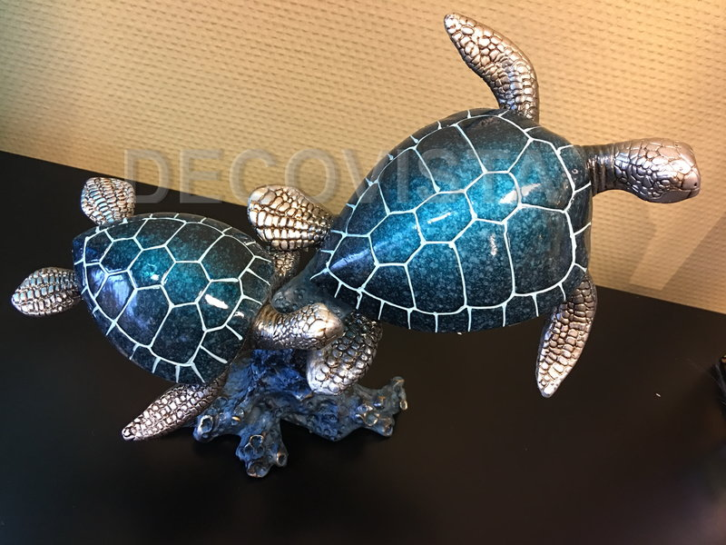 Casablanca Deco-Art Zeeschildpadden op koraal