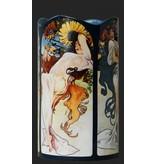 Silhouette d'Art - John Beswick Mucha - Four Seasons (1896), Art vase , museum vase