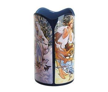 Silhouette d'Art - John Beswick Vase Mucha - Four Seasons