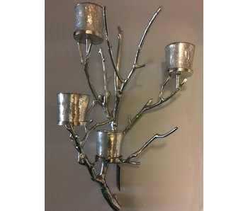 Dutch Design Label  Wall candleholder with four lanterns