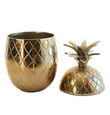 Colmore Aluminum pineapple in vintage bronze storage box