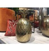 Colmore Aluminum pineapple in vintage bronze storage box - L