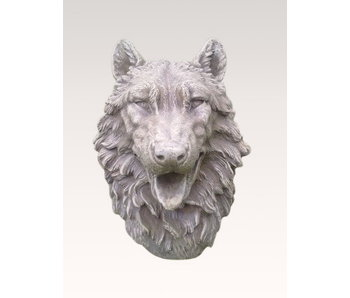 Wolf, wolvenkop, tuinbeeld