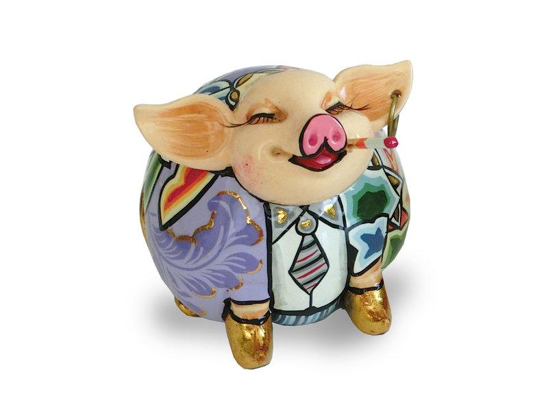 Toms Drag Pig figurine Patrick - gold