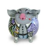 Toms Drag Pig figurine Cedric, Silver Line