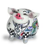 Toms Drag Pig figurine Hendrik, white