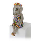 Toms Drag Zittend olifantenmeisje met goudaccenten