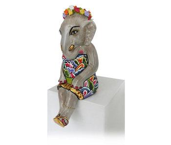 Toms Drag Elefantengirl Lilly, Gold