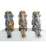 Toms Drag Sitzende Elefantenmädchen Elly, Silver