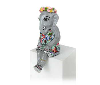 Toms Drag Elefantengirl Elly, Silver