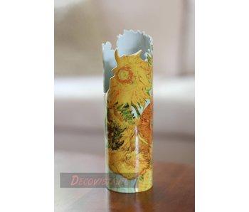 Silhouette d'Art - John Beswick Vase - Vincent Van Gogh Sunflowers