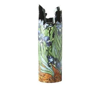 Silhouette d'Art - John Beswick Jarrón de Museo - Vincent Van Gogh -  Irises