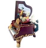 Musicboxworld Spieluhr-Flügel mit fünf Katzen
