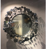 C. Jeré - Artisan House Raindrops Spiegel Silver