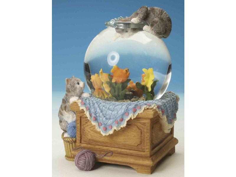 Musicboxworld Caja de acuario Waterbox