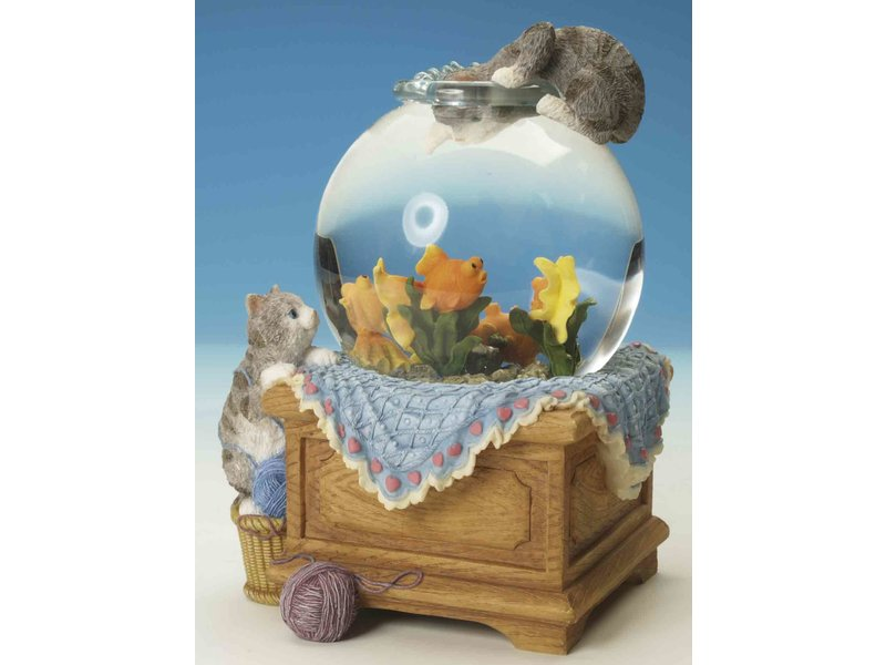 Musicboxworld Speeldoos waterbol Aquarium